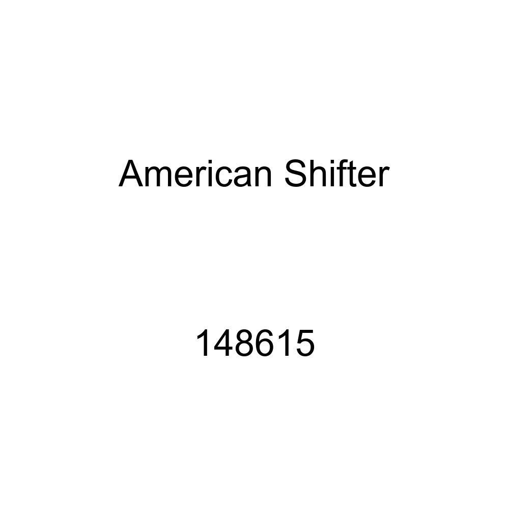 American Shifter 148615 Black Retro Shift Knob with M16 x 1.5 Insert Red Shift Pattern 8n