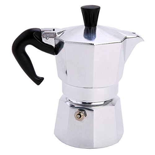Bialetti 1168 Moka Express Export Espresso Maker, Silver - Buy Online in UAE. Kitchen Products ...