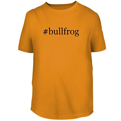 Bh Cool Designs  Bullfrog   Mens Graphic Tee  Gold  Xxx Large