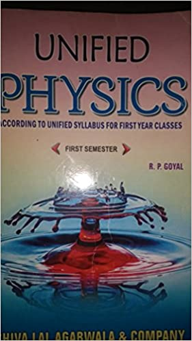 Buy UNIFIED PHYSICS FOR B SC FIRST SEM ENGLISH Book Online