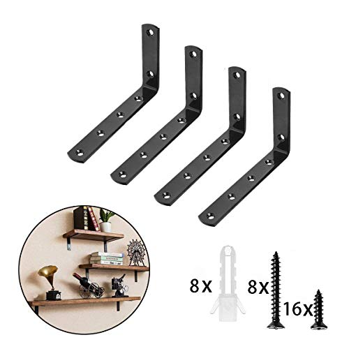 2 X CORNER ANGLE BRACKET REPAIR PLATE BRACE FURNITURE TABLE ETC