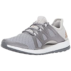 adidas Performance Women's Pureboost Xpose, Grey One/Grey Three/Tactile Gold, 6.5 Medium US