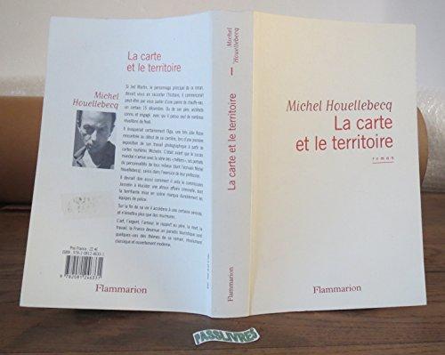 La Carte Et Le Territoire (French Edition) Flammarion edition by Michel Houellebecq (2010) Paperback