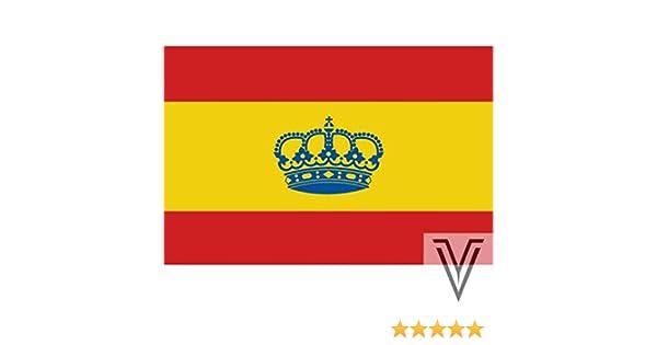 Nautica Vintt Bandera DE ESPAÑA con Corona 45 X 30 CM: Amazon.es: Deportes y aire libre