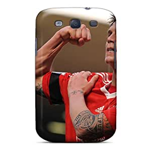 Premium Protection Liverpool Daniel Agger Is Showing His Muscle Case Cover For Galaxy S3- Retail Packaging