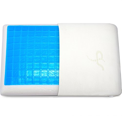 Supportiback Comfort Therapy Memory Bed Pillow With Heat Dissipating...