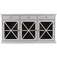 HomeDepot.com deals on Home Decorators Collection Hampton Grey Buffet