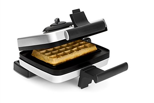 Croquade Traditional Single Thermostat Belgium Waffle Maker(U11000) by CROQUADE