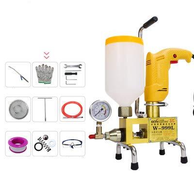 BAOSHISHAN W-999L - Máquina de aseo de alta presión (910 W, para reparación de grietas de hormigón, fugas, piscina, casa, techo, máquina de inyección): ...