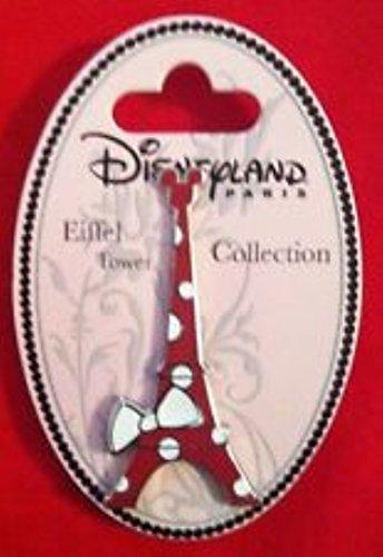 Disney Pins Disneyland Paris Eiffel Tower Collectible Pin Minnie New on Card