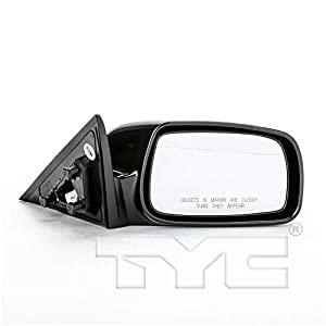 TYC 5210732-1 NSF Version Black/PTM Outside/Exterior Mirrors