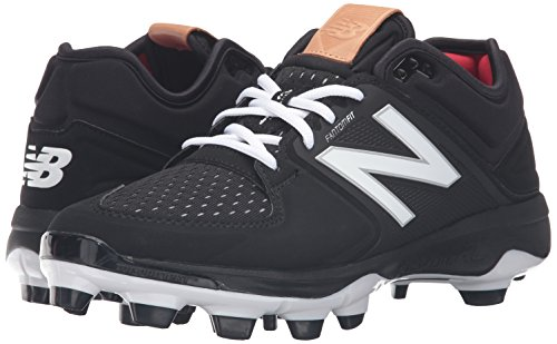 Image of the New Balance Men's 3000v3 Baseball TPU Cleat, Black/Black, 12.5 D US
