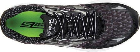 SkechersGo Run Ride 5 - Zapatillas de running hombre negro/blanco