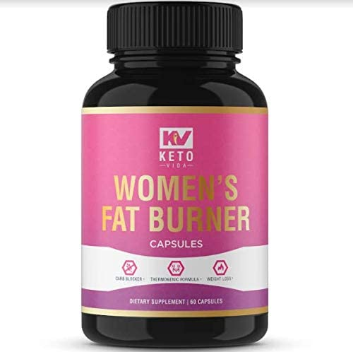 Keto Vida Weight Loss Pills for Women with Apple Cider Vinegar for Fat Burn Natural Detox 60 Servings