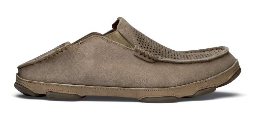 Slip-on In Pelle Scura Olukai Moloa Kohana