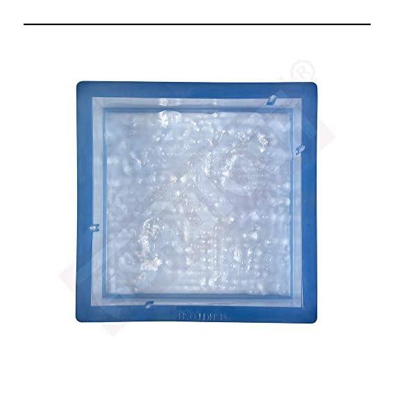 Ashutosh Rubber Square Paver Mould, 150 X 150-60 mm Stone