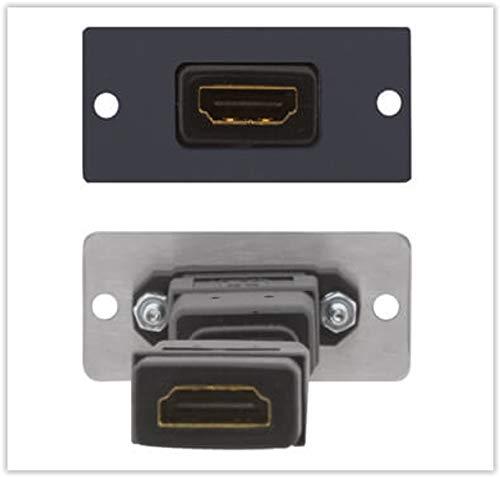 (Kramer Electronics W-H HDMI Wall Plate Insert, Single)