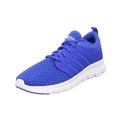 adidas Men's Cloudfoam Groove Fitness Shoes, Black Blue (Blue / Blue / Plamat)