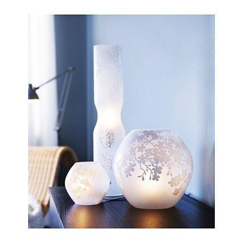 Bouche De Lampe La Knubbig Avec Ikea À Table Soufflé En Verre oshrdtQBCx