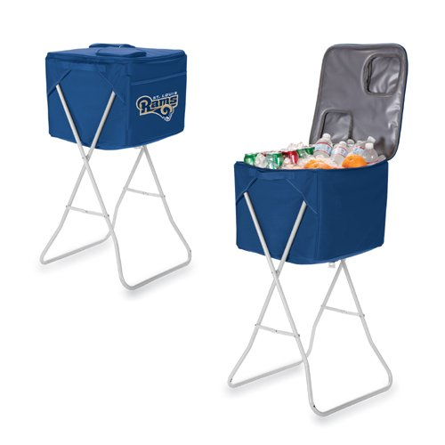 72 Can NFL Party Cube Digital Print Cooler NFL Team: St. Louis Rams, Color: Navy by PICNIC TIME