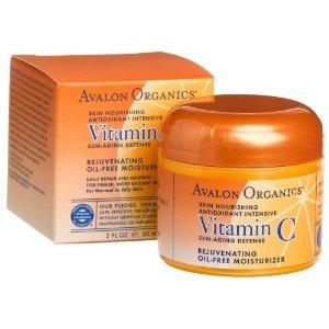 Avalon Organics Crème Visage, de renouvellement, de la vitamine C, 2 oz