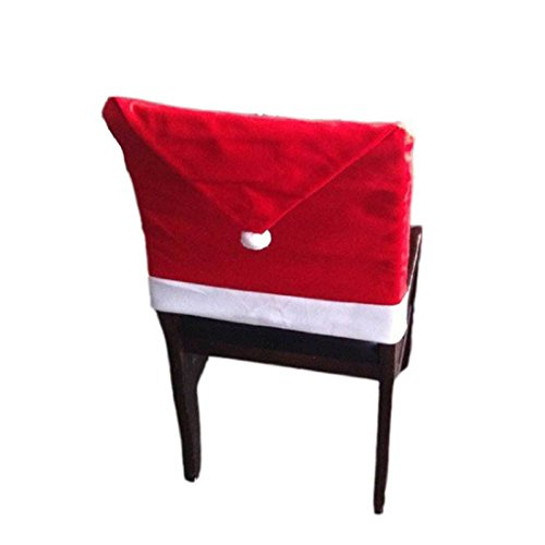 Chair Covers Leegor Christmas Red Hat Chair Covers Christmas Decorations Dinn