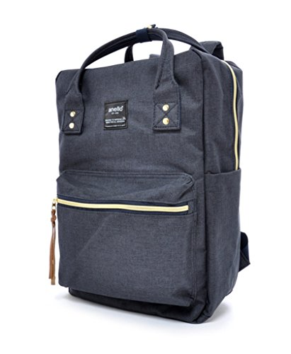 anello-polyester-canvas-unique-texture-surface-backpack-navy
