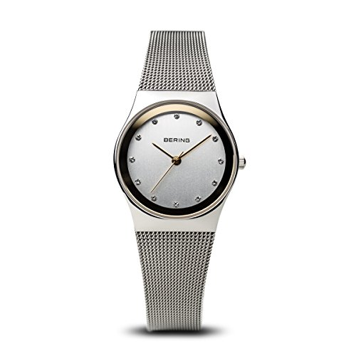 BERING Time 12927-010 Womens Classic Collection Watch with Mesh Band and scratch resistant sapphire crystal. Designed in - Discount Watchshop
