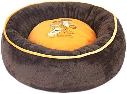 FH Suave y cómodo Perro Perrera Pet Nest Gato Cama Perro colchón Suministros (Color : Yellow, Size : XL120X120X26cm)
