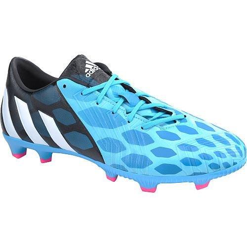 half off 203dc 294ed New Adidas Boy s Predator Absolado Instinct FG J Soccer Cleats Solar Blue  White 6