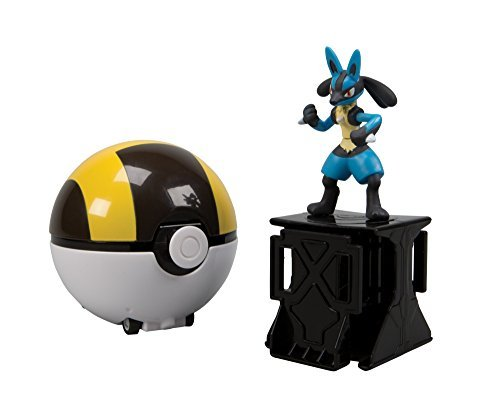 Pokemon XY Super Catch-n-Return Poke Ball - Lucario with Ultra Ball by Hive Entertainment