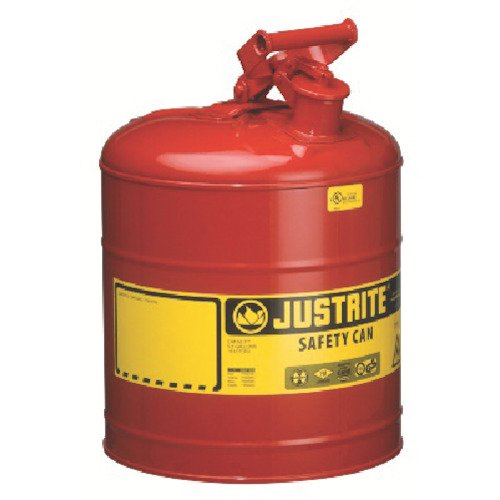 Justrite Type I Safety Can, Five-Gallon Gasoline Can by Justrite