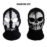 Bacalao onairmall Call of Duty 10Fantasmas Campanas Skull Skeleton Head Mask Capucha biker-1