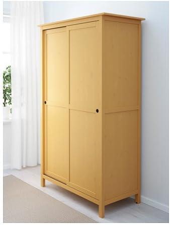 Ikea 428.8511.1026 - Armario con 2 puertas correderas, color amarillo: Amazon.es: Juguetes y juegos