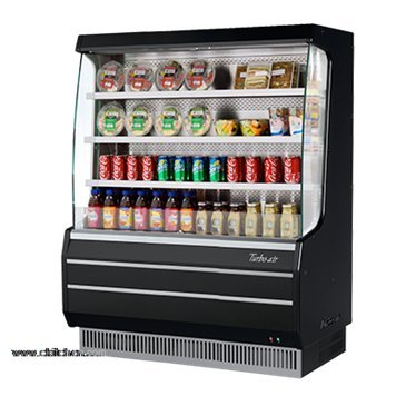 (Turbo Air TOM-50MB Vertical Open Display Merchandiser)