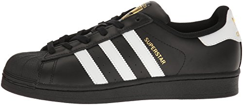 Gold metallic Adidas Basses Black Sneakers white Femme Superstar W wqBP1z6
