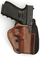 Front Line LKC04P-BR Open Top Paddle Holster, Brown, Right