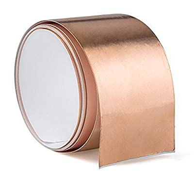 "Samyoung Copper Foil Tape Shielding Tapes for Guitar Guitars - 6 feet X 50 mm (1.97"") from Samyoung"