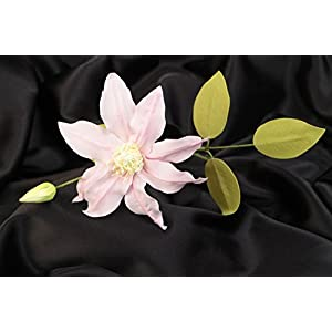 Beautiful Gentle Handmade Decorative Foamiran Flower Clematis For Gift 106