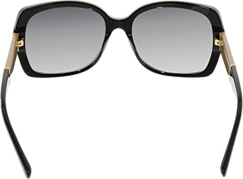 Burberry Women's BE4160 Sunglasses Black / Grey Gradient 58mm