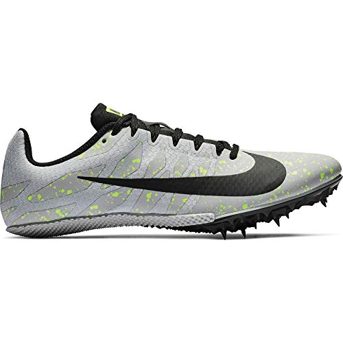 Nike Zoom Rival S 9 Track Spike Pure Platinum/Black/Volt Glow Size 11.5 M - Overlay Nike