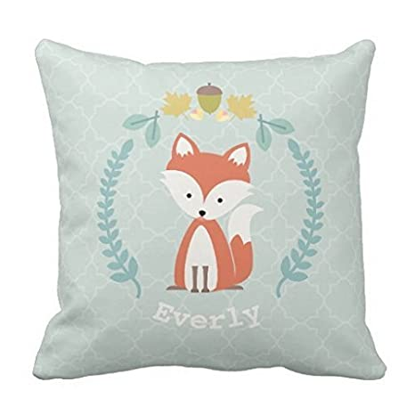 warrantyll personalizado bebé Fox corona almohadas cojín ...