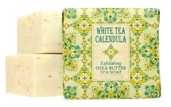 French Milled Soap Favors Set of 12 White Tea Calendula