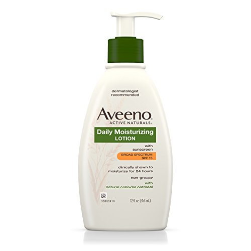 Aveeno Daily Moisturizing Lotion With Sunscreen