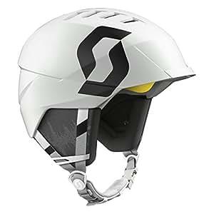 Scott -Casco de esquí Unisex 'Symbol', otoño/Invierno, Unisex, Color Blanco Mate, tamaño Small