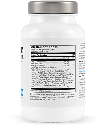 Klean Athlete - Klean Focus - Nutrients and Antioxidants to Support Cognitive Health and Cellular Function - NSF Certified for Sport - 90 Capsules Discount
