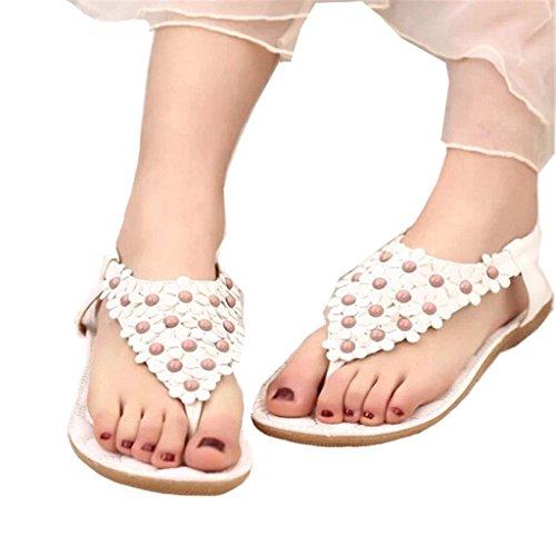Geachte Tijd Zoete Vrouwen Sandalen Mode Schoenen White668