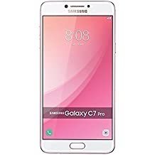 "Samsung Galaxy C7 Pro C7010 64GB Pink Gold, 5.7"", Dual Sim, GSM Unlocked International Model, No Warranty"