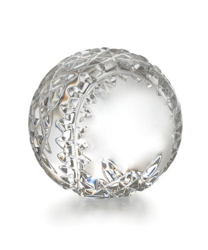 Waterford Crystal Collectibles Baseball Paperweight