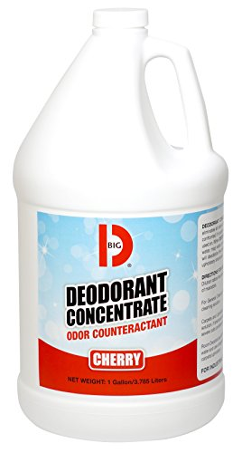 Big D 1213 Deodorant Concentrate, Cherry Fragrance, 1 Gallon (Pack of 4) - Add to Any Cleaning Solution - Ideal for use in Hotels, Food Service, Health Care, Schools and institutions
